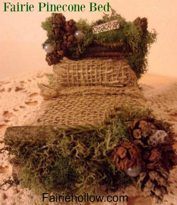 5 Favorite Fairie Beds to make and add to your fairy garden|fairiehollow