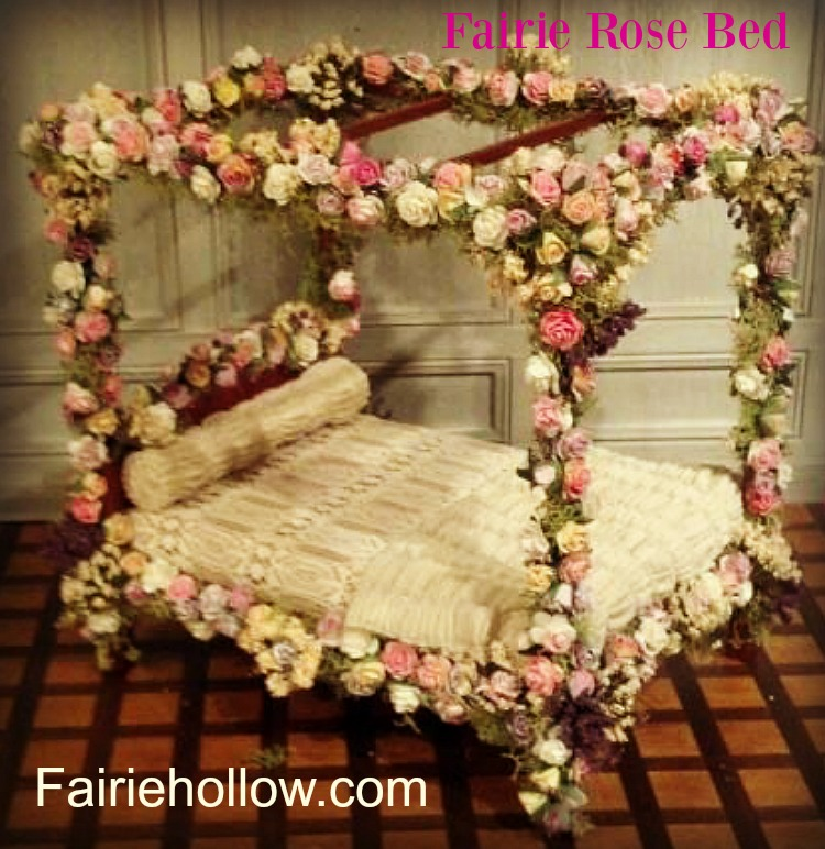5 Favorite Fairie Beds to make and add to your fairy garden|fairiehollow.com
