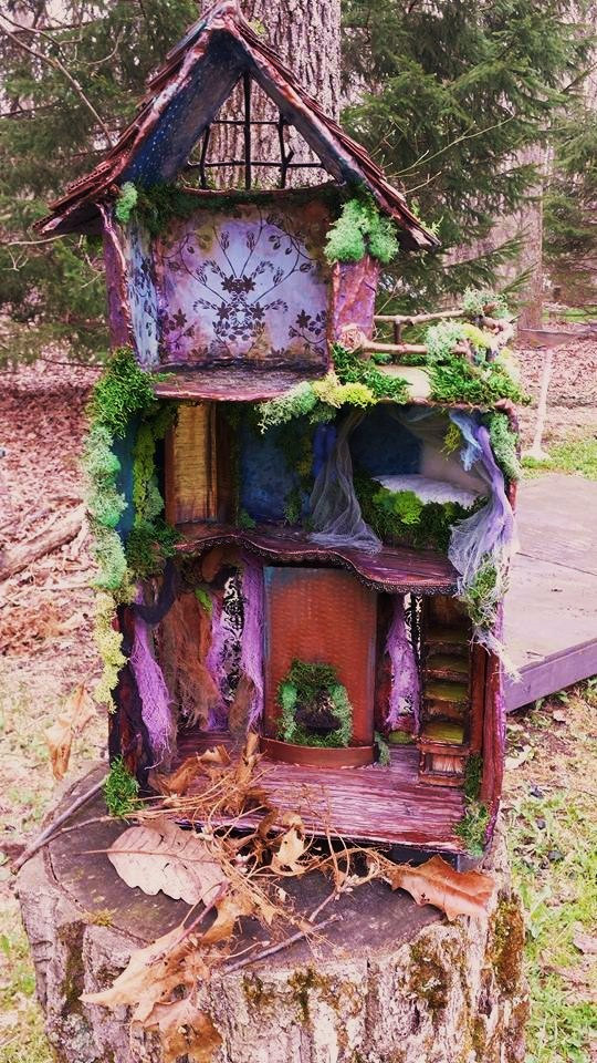 5 Magical Forest Fairy Houses Outdoor Spaces Living