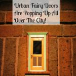 Urban Fairy Doors Make Magic in Ann Arbor